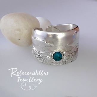rebecca wilbur seascape rings